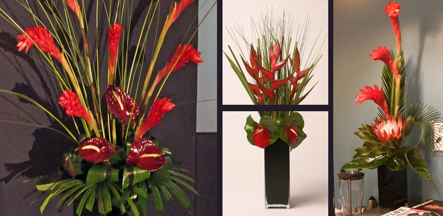 Beau Flower Arrangement For Office 2